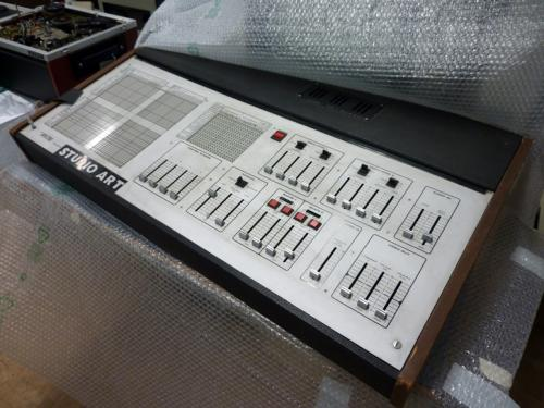 A Spectre video synthesizer from the AktiveArchive / HKB reference collection. Photo : PACKED vzw.