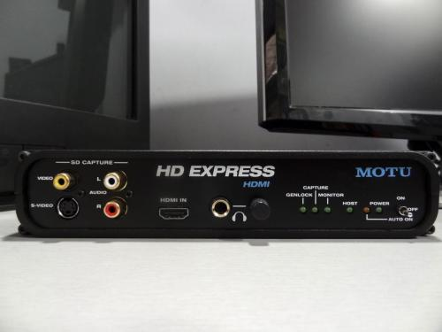 WRO's digitisation equipment: MOTU HD Express HDMI. Picture: WRO Art Center.